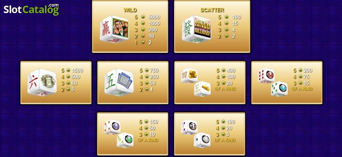 Spiele Bingo Billions (Dice) - Video Slots Online