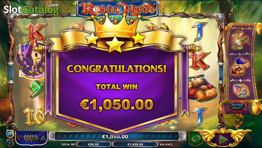 Spiele Robin Hood Prince Of Tweets - Video Slots Online