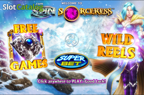 Spilfunktioner 1. Spin Sorceress (Video Slot fra NextGen)