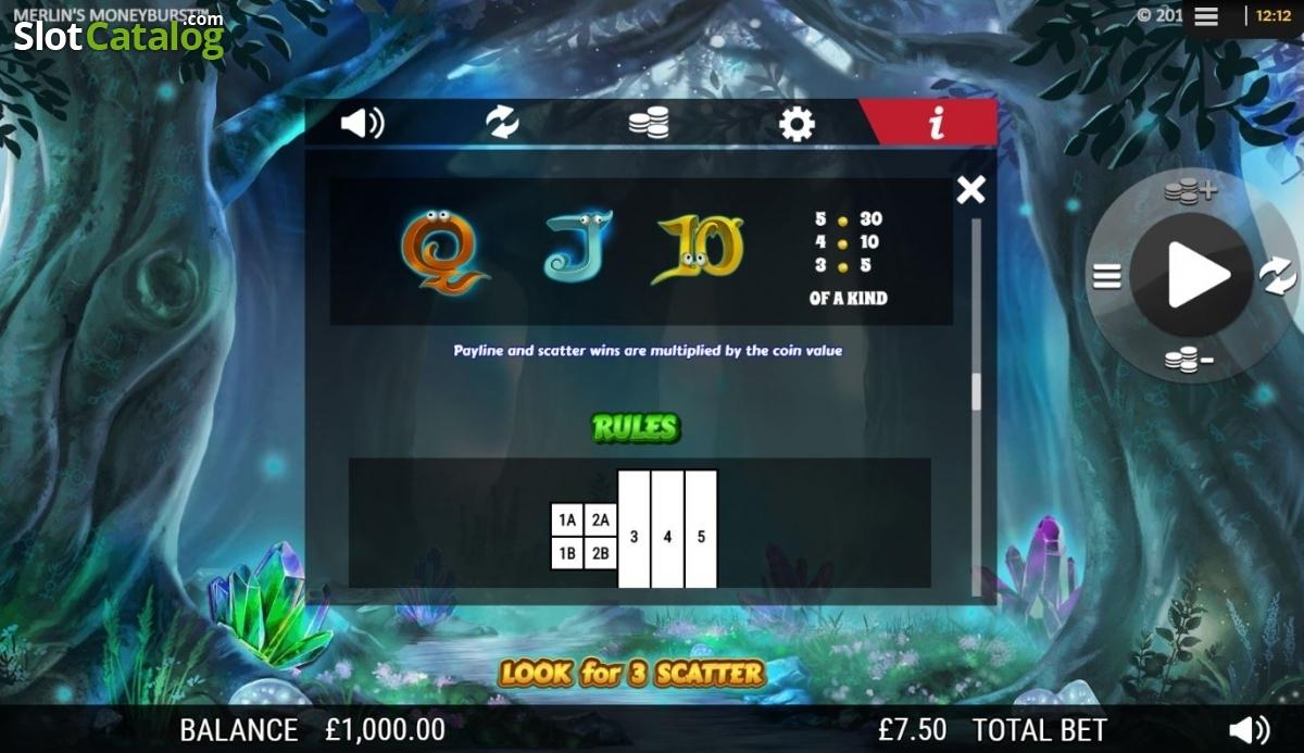 Spiele MerlinS Money Burst - Video Slots Online