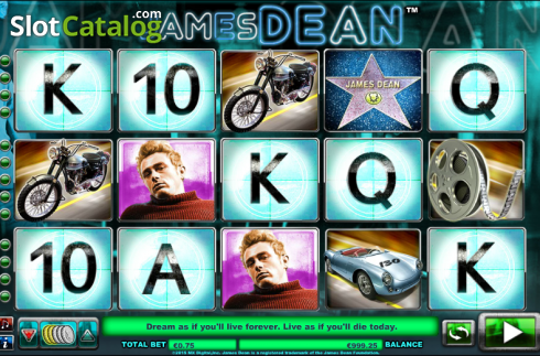 Reels. James Dean (Slot de video a partir de NextGen)