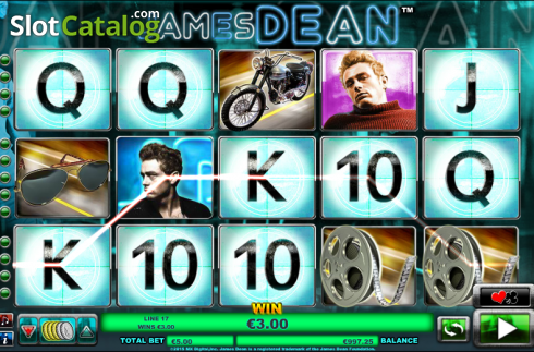 Selvagem. James Dean (Slot de video a partir de NextGen)