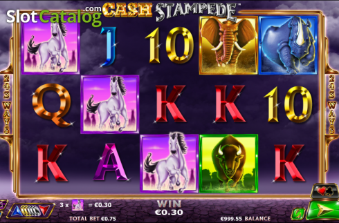 Win. Cash Stampede (Video Slots from NextGen)