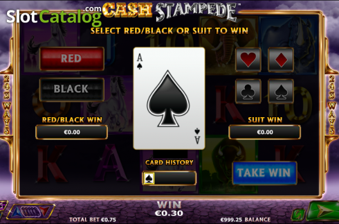 Double Up. Cash Stampede (Video Slots from NextGen)