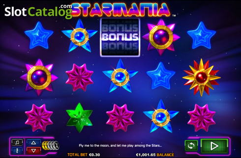 Reels. Starmania (Video Slot from NextGen)