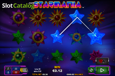 Win. Starmania (Video Slot from NextGen)