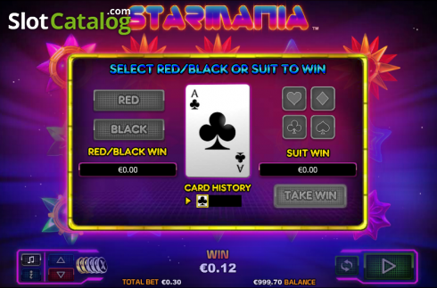 Double Up. Starmania (Video Slot from NextGen)
