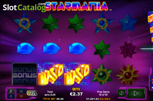 Wild. Starmania (Video Slot from NextGen)