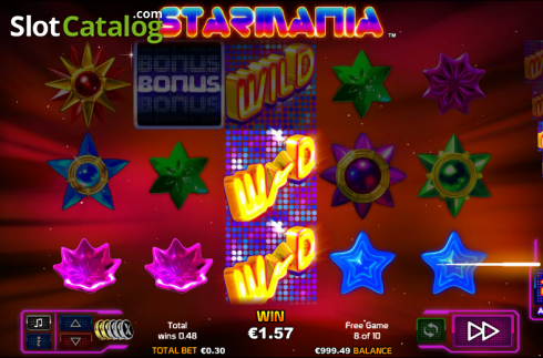 Extra Wild. Starmania (Video Slot from NextGen)