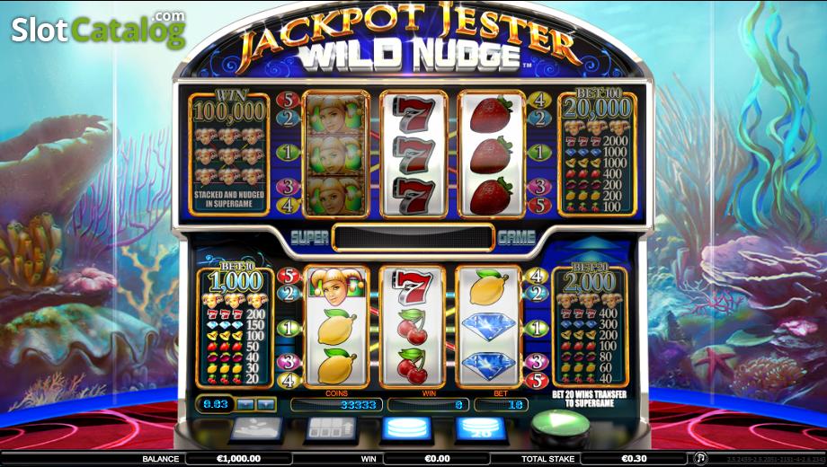 Jackpot Jester Wild Nudge Slot Machine