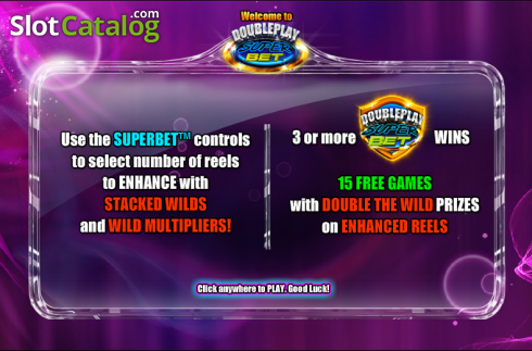 Spelfunktioner 1. Double Play SuperBet (Video Slot från NextGen)