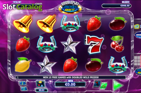 rullar. Double Play SuperBet (Video Slot från NextGen)