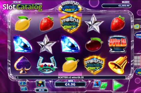 Sprida ut. Double Play SuperBet (Video Slot från NextGen)
