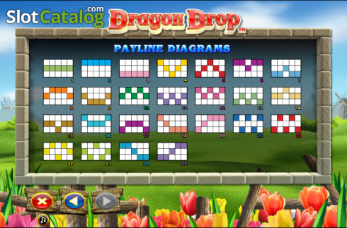 Paytable 6. Dragon Drop (Video Slot a partire dal NextGen)