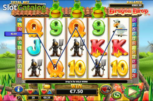 Vincere. Dragon Drop (Video Slot a partire dal NextGen)