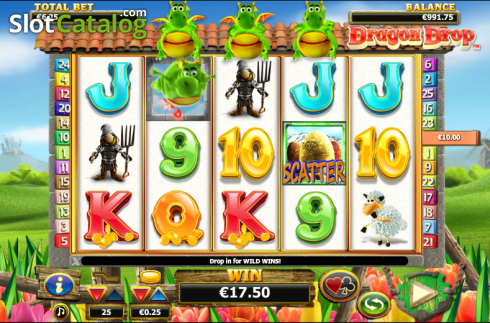 selvaggio. Dragon Drop (Video Slot a partire dal NextGen)
