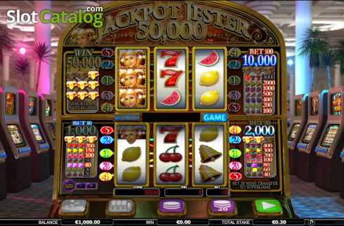 Reels. Jackpot Jester 50k (Video Slot from NextGen)