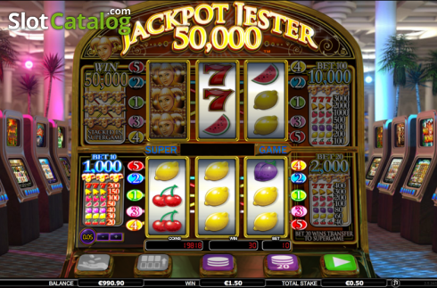 Win 2. Jackpot Jester 50k (Video Slot from NextGen)