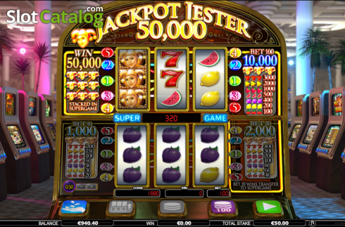 Screen 3. Jackpot Jester 50k (Video Slot from NextGen)