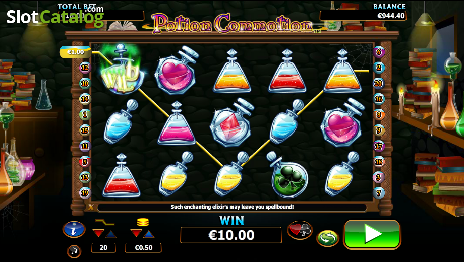 Spiele Potion Commotion - Video Slots Online