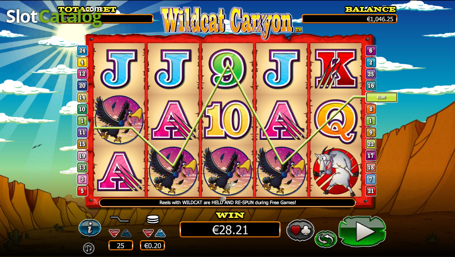 Spiele Wild Cat Canyon - Video Slots Online