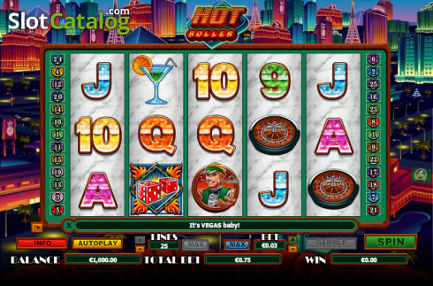 Cuộn. Hot Roller (Video Slot từ NextGen)