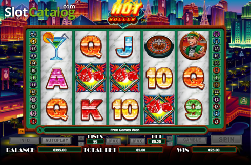 Tiêu tan. Hot Roller (Video Slot từ NextGen)