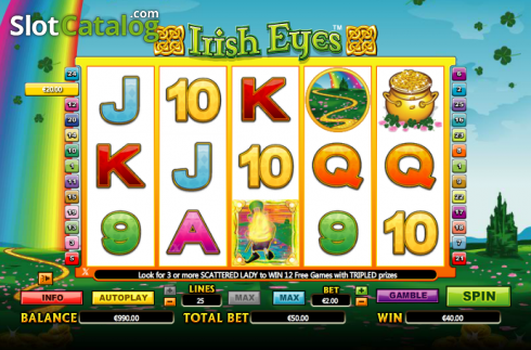 selvaggio. Irish Eyes (Video Slot a partire dal NextGen)