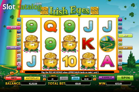 Vincere. Irish Eyes (Video Slot a partire dal NextGen)