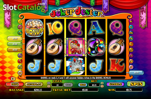 Wild. Joker Jester (Video Slot from NextGen)