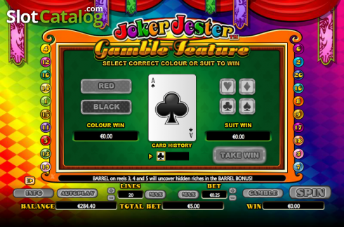 Double Up. Joker Jester (Video Slot from NextGen)