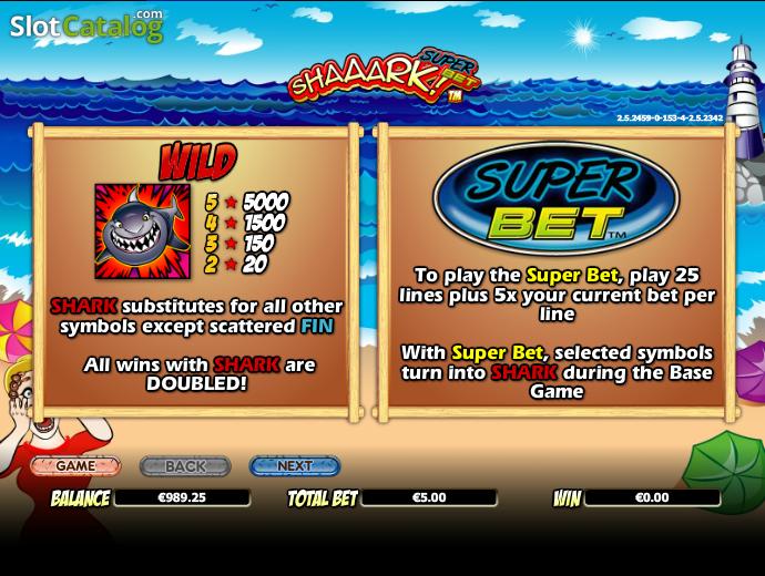 Enjoy Shaaark! Superbet Slots with No Download