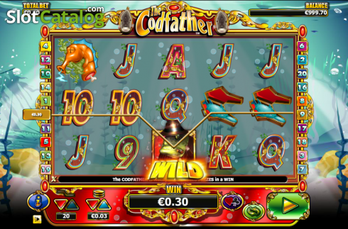 Wild. The Cod Father (Video Slot from NextGen)