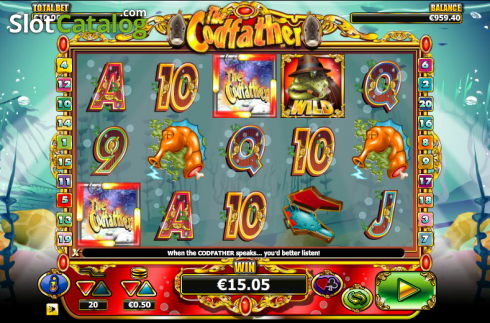 Scatter. The Cod Father (Video Slot from NextGen)