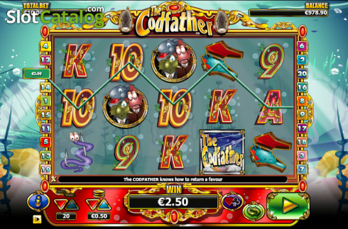Win. The Cod Father (Video Slot from NextGen)
