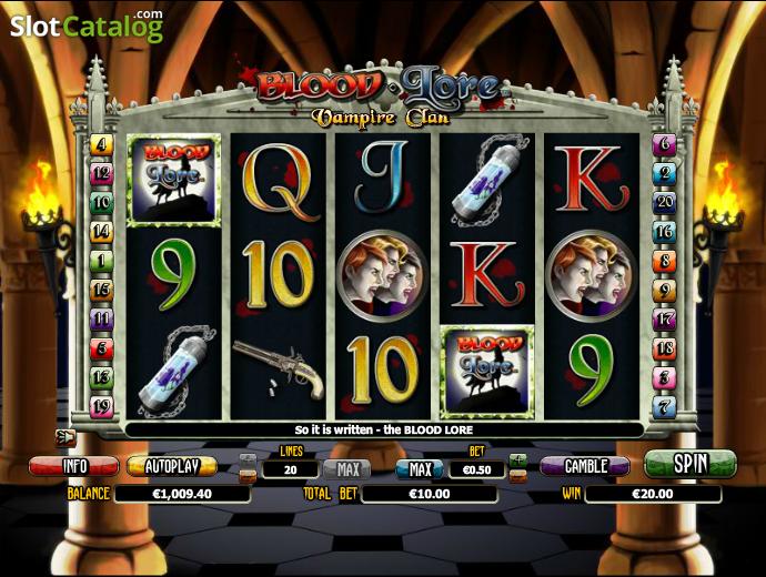 Blood Lore Vampire Clan Slot Machine Online ᐈ NextGen Gaming™ Casino Slots