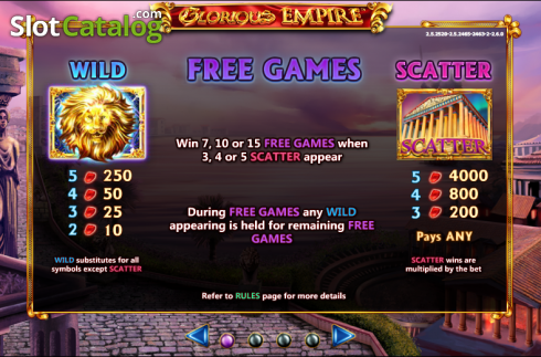 Spiele Glorious Empire - Video Slots Online