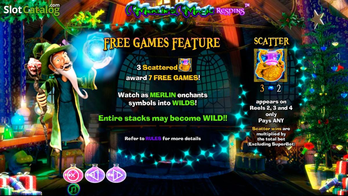 Überprüfung von Merlins Magic Respins Christmas (Video Slot aus ...