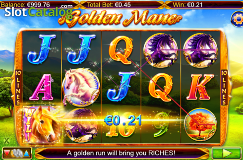 Screen 3. Golden Mane (Video Slots from NextGen)