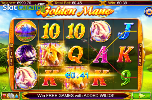 Screen 4. Golden Mane (Video Slots from NextGen)