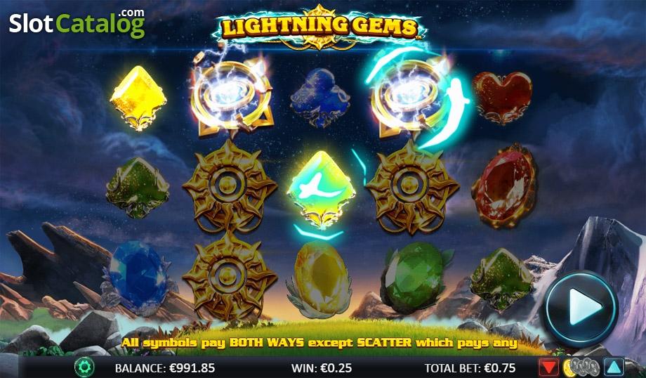Spiele Lightning Gems - Video Slots Online