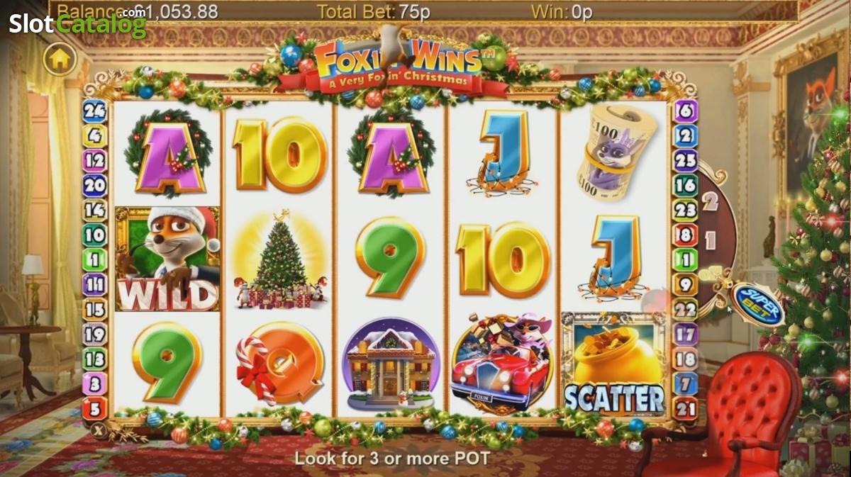 foxin wins a very foxin christmas casino