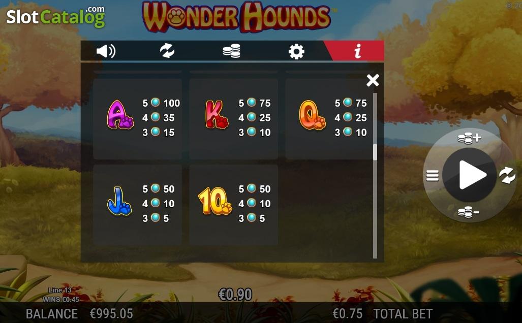 Spiele Wonder Hounds - Video Slots Online