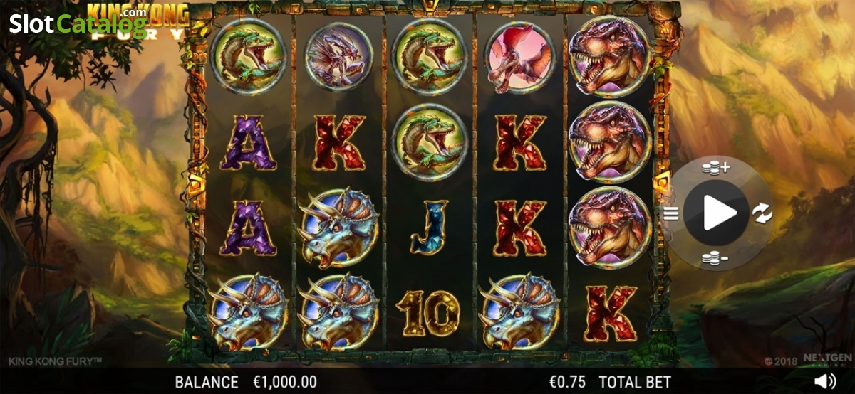 King Kong Fury Slot Review, Bonus Codes & where to play from United Kingdom
