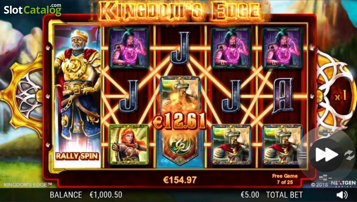 Spiele Kingdoms Edge 95 - Video Slots Online