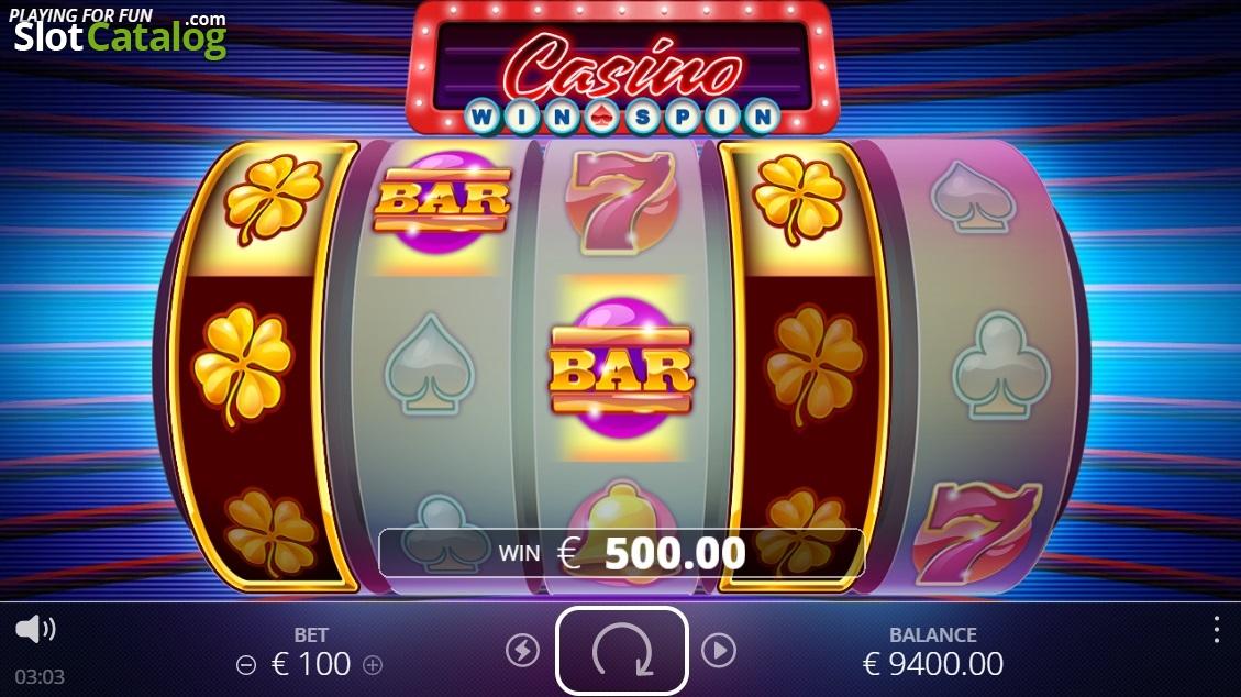 casino slot win video