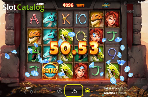 Win Screen 4. Dragon Tribe (Video Slots from Nolimit City)