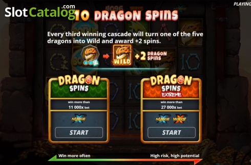 Free Spins 1. Dragon Tribe (Video Slots from Nolimit City)