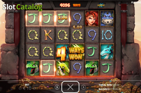Win Screen 1. Dragon Tribe (Video Slots from Nolimit City)