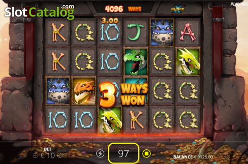 Win Screen 2. Dragon Tribe (Video Slots from Nolimit City)